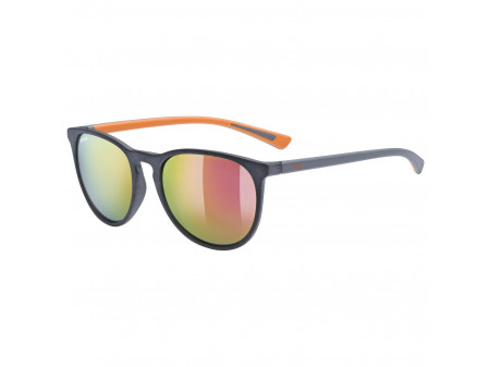 Brilles Uvex lgl 43 grey mat / mirror orange