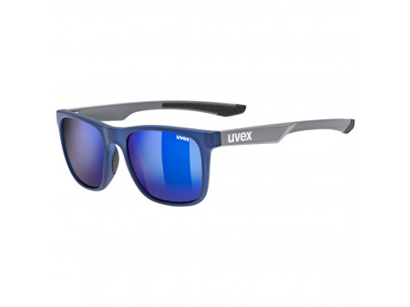 Brilles Uvex lgl 42 blue grey mat / mirror blue