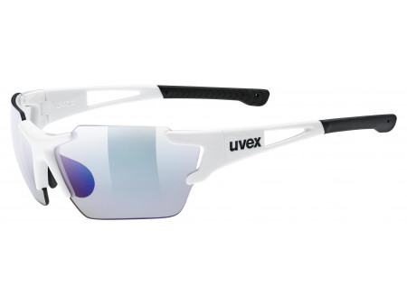 Brilles Uvex Sportstyle 803 Race small variomatic white