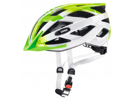 Velo ķivere Uvex Air Wing lime-white