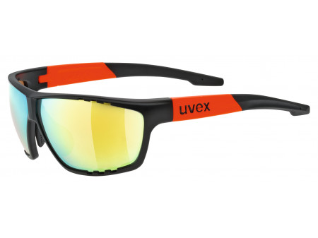 Brilles Uvex Sportstyle 706 black mat orange