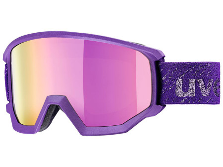 Brilles Uvex Athletic FM deep-violet mat