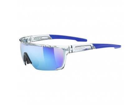 Brilles Uvex Sportstyle 707 clear / mirror blue