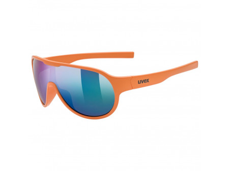Brilles Uvex Sportstyle 512 orange mat / mirror green
