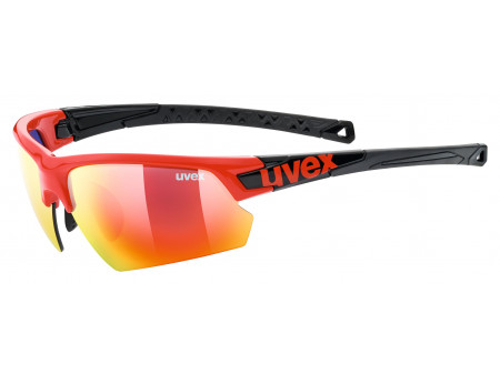Brilles Uvex Sportstyle 224 red black