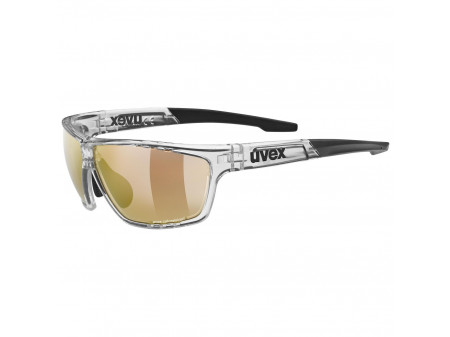Brilles Uvex Sportstyle 706 CV Variomatic clear / litemirror red