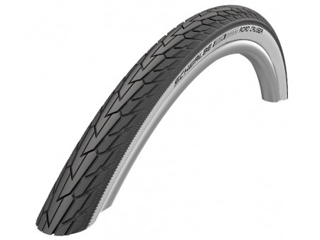 "Riepa 28"" Schwalbe Road Cruiser HS 484, Active Wired 47-622 Whitewall"