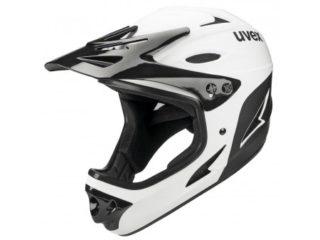 Velo ķivere Uvex HLMT 9 Bike black-white
