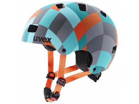 Velo ķivere Uvex Kid 3 cc green checkered