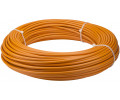 Bremzes trose apvalks Saccon Italy 5mm lubricated ORANGE (1m)