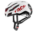 Velo ķivere Uvex Race 9 white-red