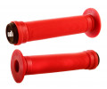 Stūres rokturi ODI Longneck ST BMX 143mm Single Ply Bright Red