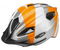 Velo ķivere Uvex Quatro Junior silver orange-50-55CM