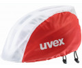 Ķiveres lietus aizsargs Uvex Bike red-white