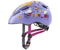 Velo ķivere Uvex Kid 2 cc lilac mouse mat