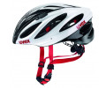 Velo ķivere Uvex Boss Race white-black