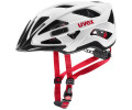 Velo ķivere Uvex Active cc white black-red mat