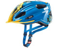 Velo ķivere Uvex Quatro Junior blue-yellow