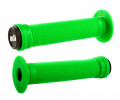 Stūres rokturi ODI Longneck ST BMX 143mm Single Ply Green