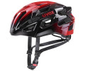 Velo ķivere Uvex Race 7 black red