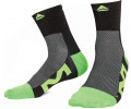 Zeķes Merida Long black/green-26CM/40-42