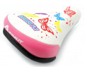 2. Sēdeklis Azimut KIDS Butterfly 230x155mm white-pink (1035)