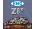 3. Ķēde KMC Z8.3 Silver/Grey 7.3mm 8-speed 114-links